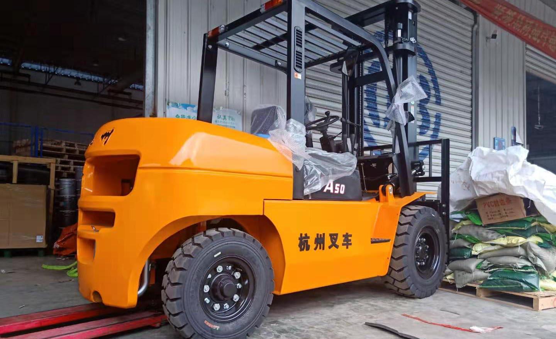 成都杭州叉车案例