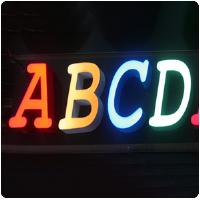 常见的几种成都发光字,你可知道?