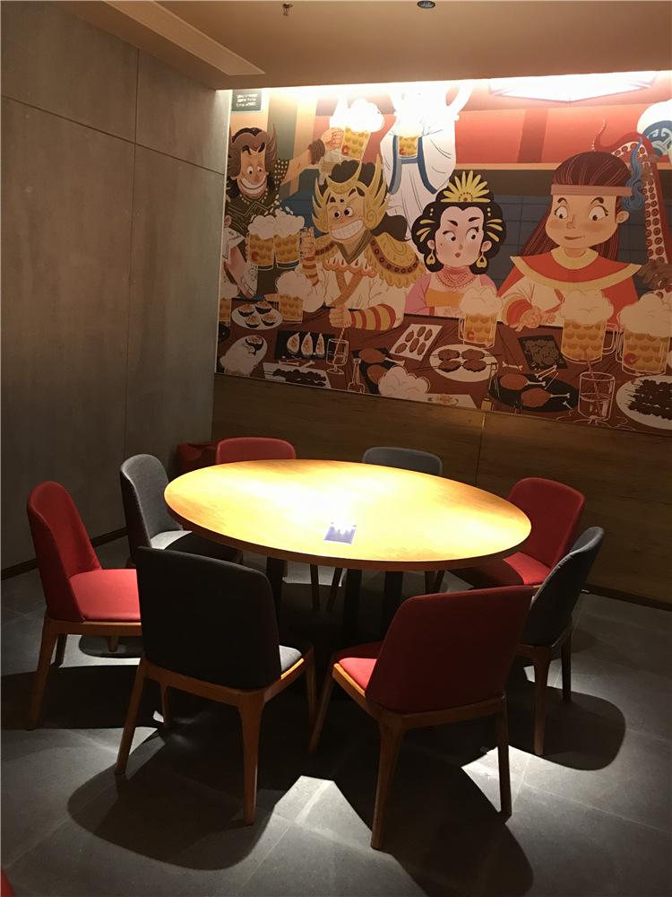 西安餐厅桌椅