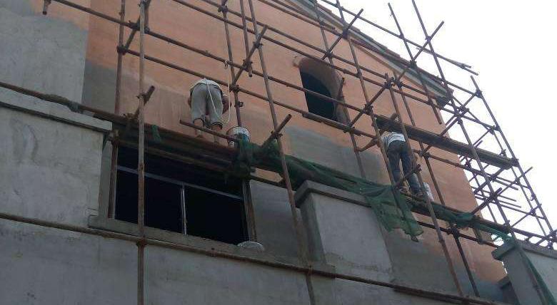 成都外墙翻新施工