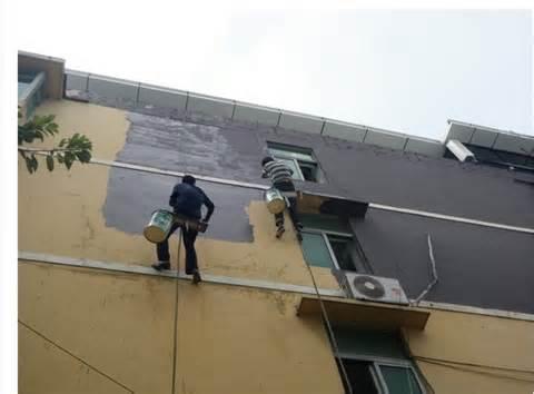 成都外墙翻新仿石漆该怎么做?