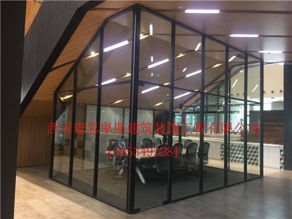 西安玻璃隔断产品重复使用率高,施工工期短!