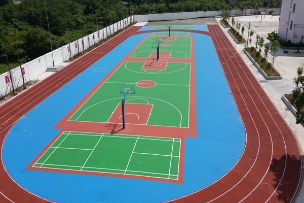 四川硅PU球场施工工艺