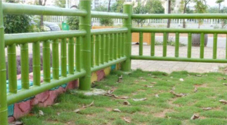 四川水泥仿竹栏杆