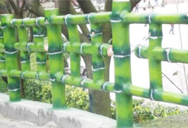 四川仿竹栏杆定制