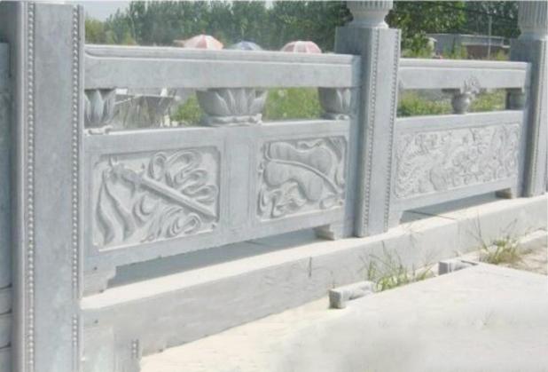 四川青石栏杆安装