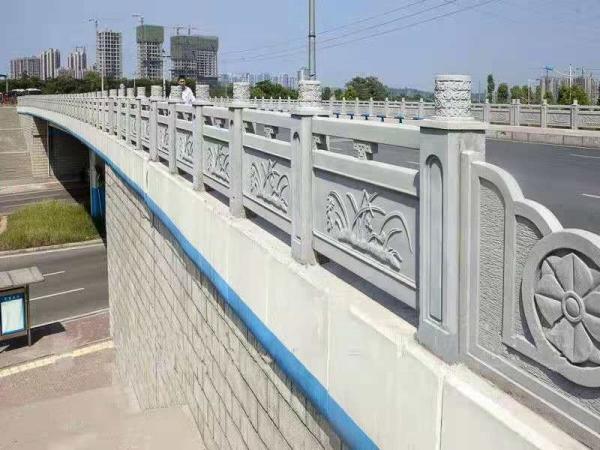 四川铸造石栏杆安装成功案例