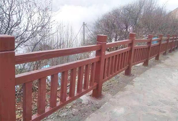 四川仿木栏杆定制