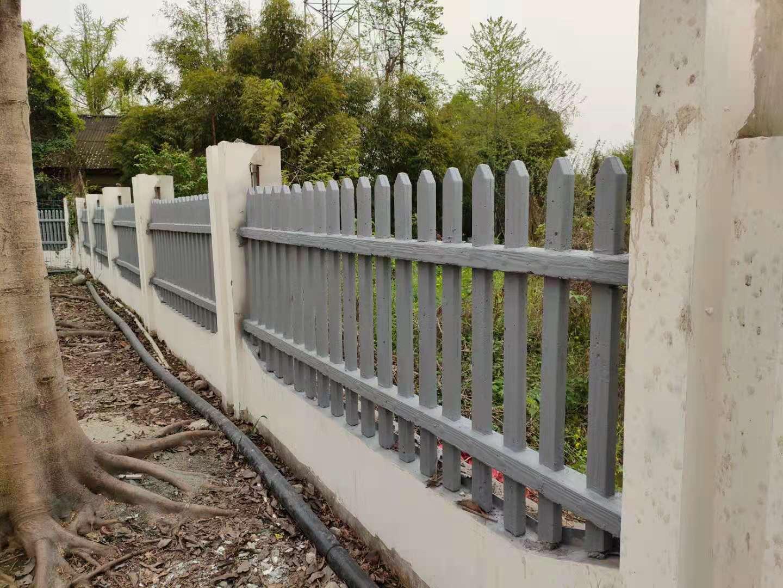四川仿木栏杆安装成功案例