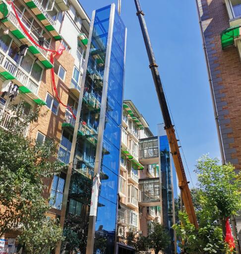 四川旧楼加装电梯