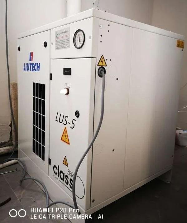 无油涡旋压缩机应用于口腔门诊案例
