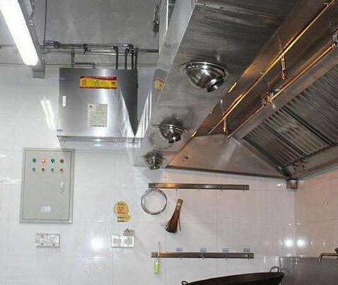 延安厨房自动灭火装置改装