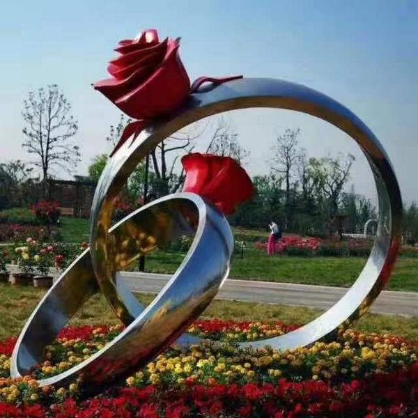 河南不锈钢雕塑工程