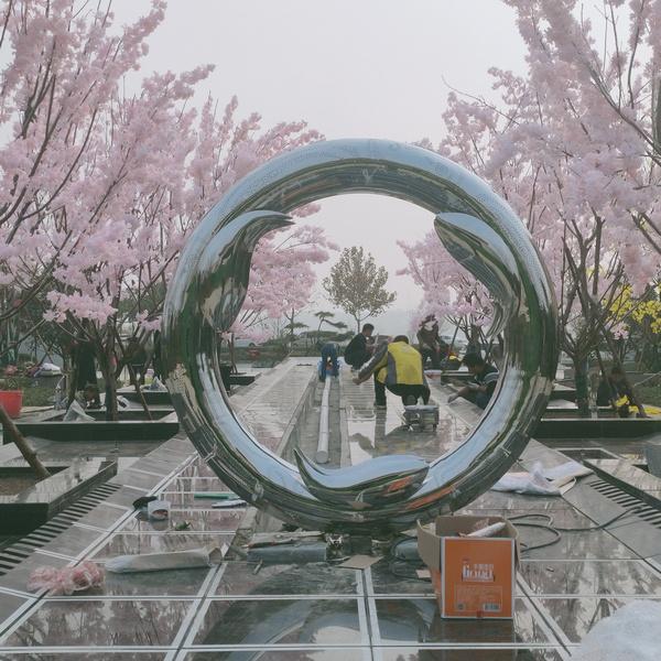 河南不锈钢雕塑加工厂家
