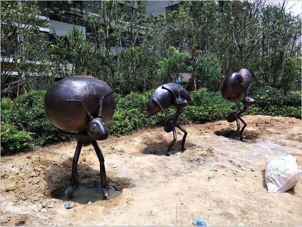 河南铸铜雕塑工程案例