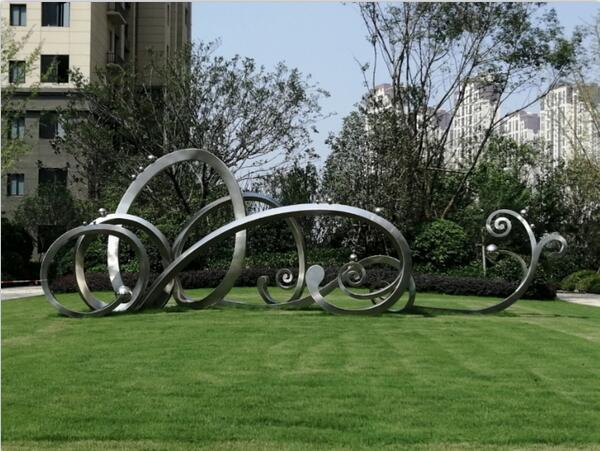 不锈钢雕塑工程案例