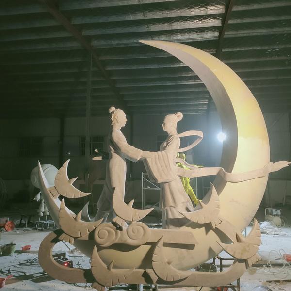 河南郑州玻璃钢雕塑厂家