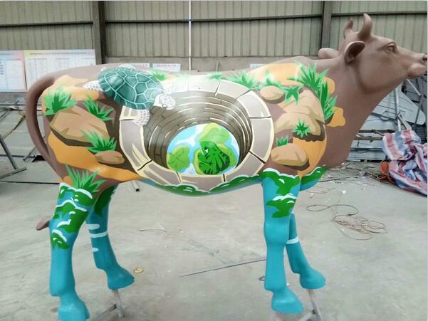 河南郑州玻璃钢雕塑工程