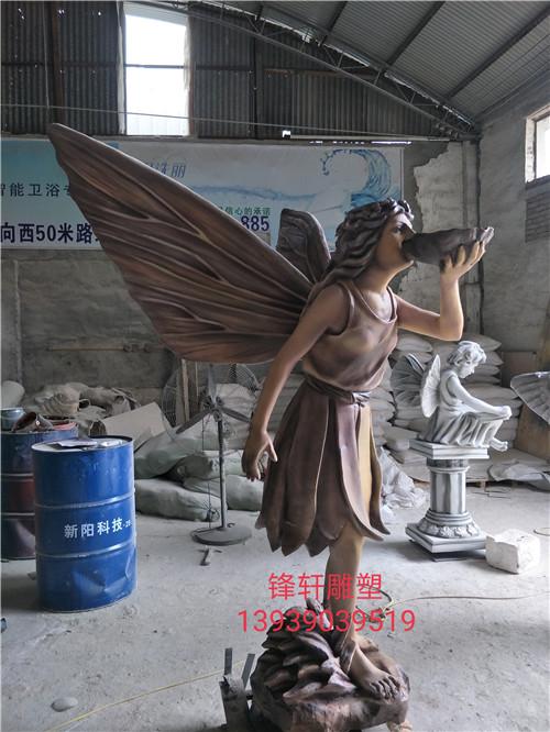 河南玻璃钢雕塑案例