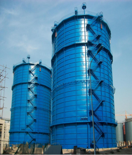 陕北府谷电石厂3万m3煤气柜检修项目