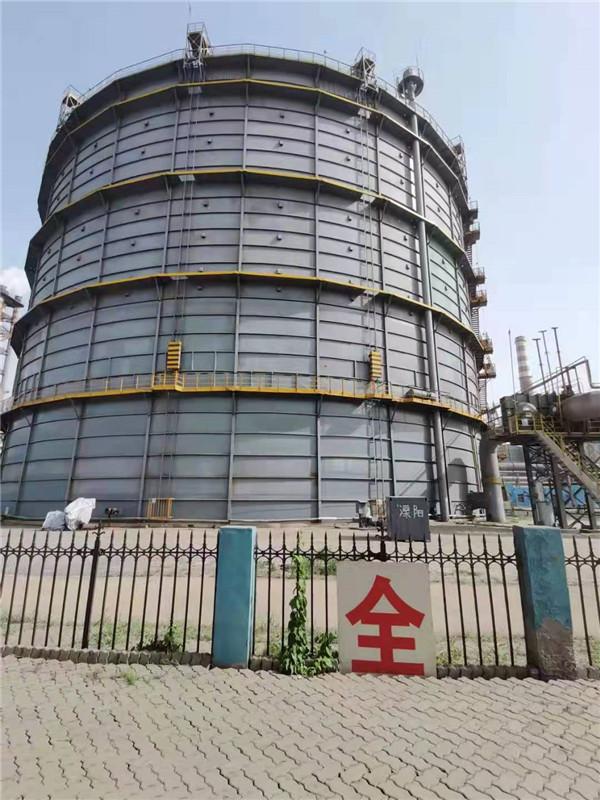 中铁装备有限公司5万m3煤气柜大修项目