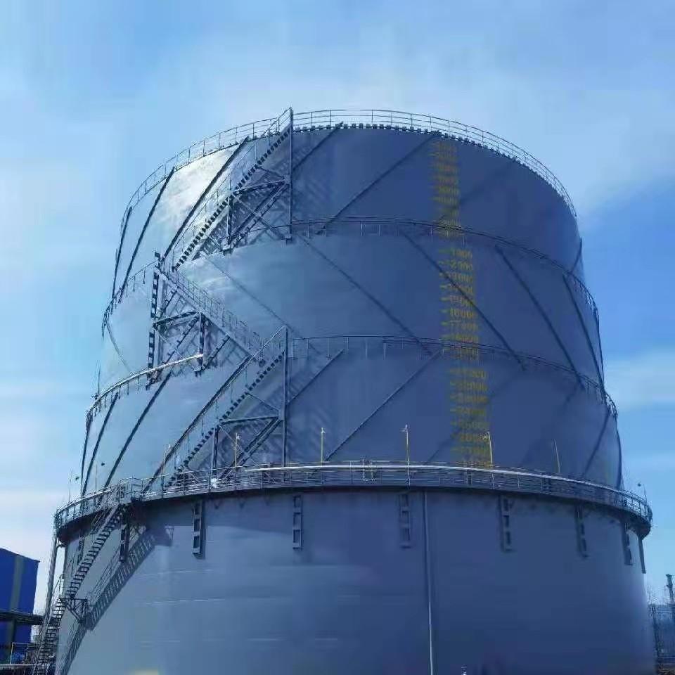 3万立方米湿式气柜