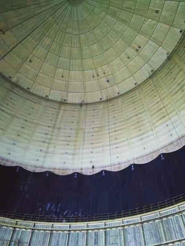 河北黄骅5万气柜检修项目