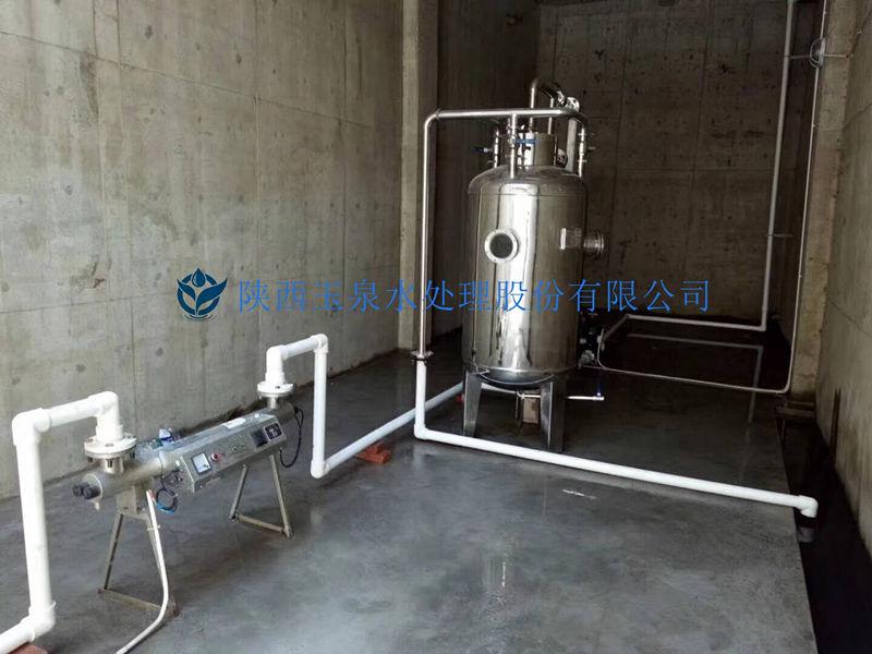 水处理设备施工现场照片