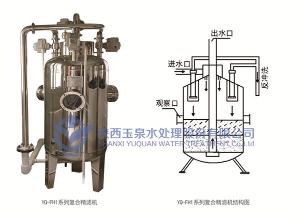 陕西水净化设备-复合精滤机