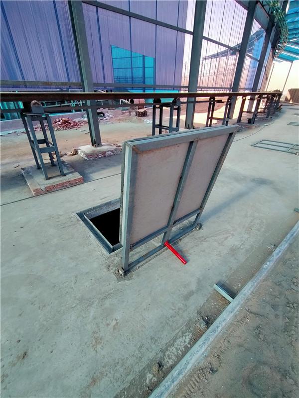 河南窯車配件-翻蓋蓋板
