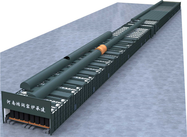 鋼結構裝配式隧道窯