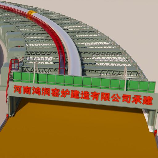和輪窯相比較,環形移動式隧道窯的主要優點