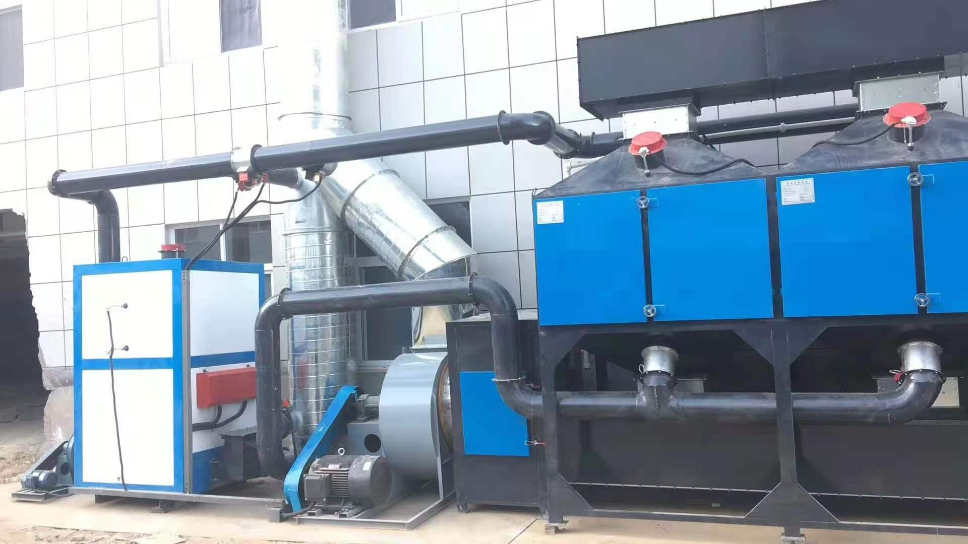 河南催化燃烧设备案例