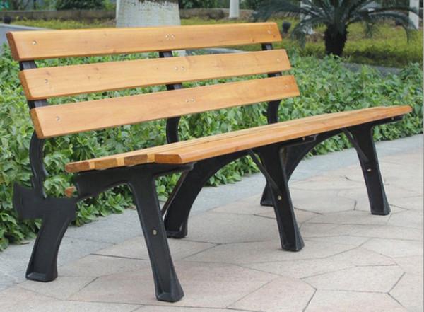 鹤壁防腐木公园椅子