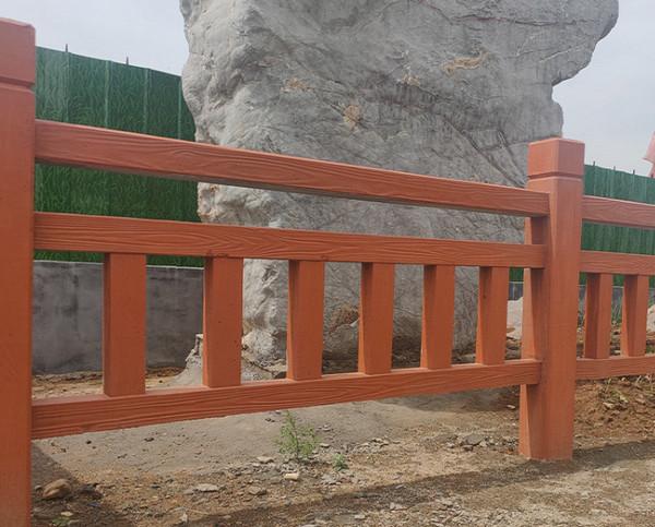 鹤壁防腐木护栏安装