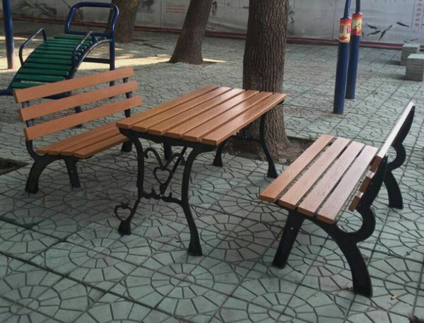 鹤壁防腐木公园椅子定制公司