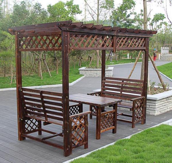 鹤壁防腐木藤架
