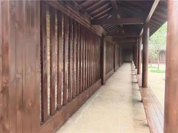 鹤壁防腐木凉亭案例