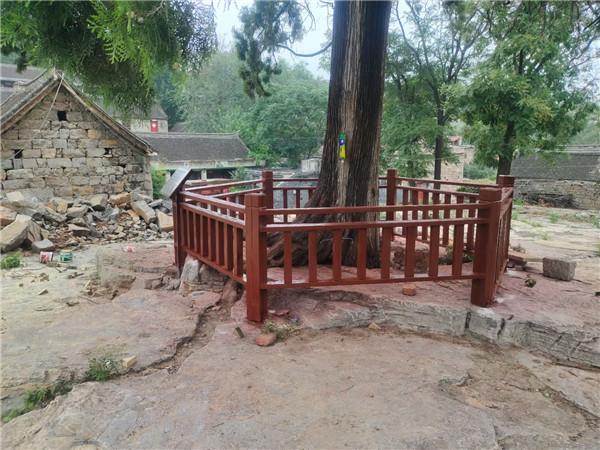 鹤壁防腐木护栏