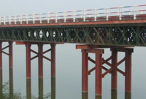 成都钢便桥施工