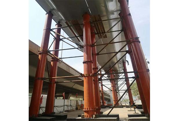成都地铁钢支撑施工成功案例