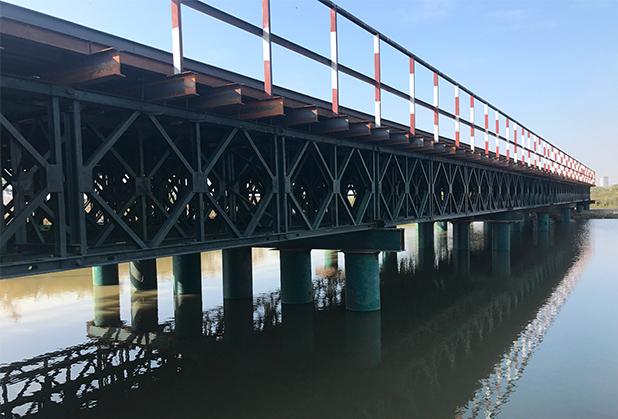 关于四川钢便桥的施工流程和技术要求,你得知道!