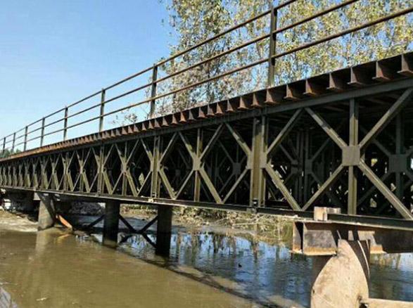 为什么贝雷桥广泛运用于路桥工程?原因在这