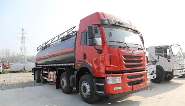危险品运输车里的罐式运输车有哪些车型分类