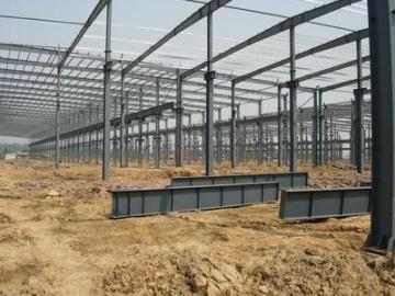 钢结构制作安装及消防施工