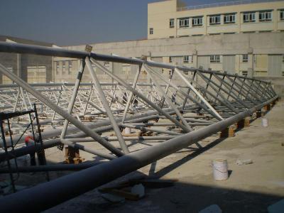 网架桁架制作与安装工程