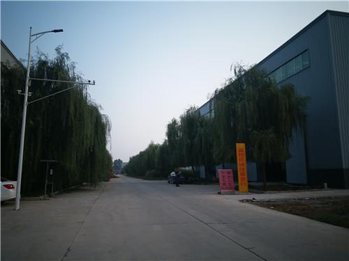 地面火炬工厂厂区