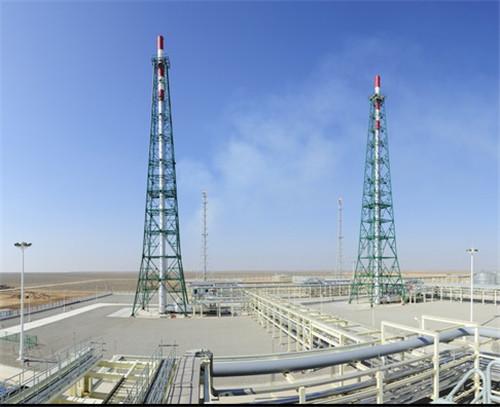 新疆煤田地质局煤制气LNG项目高架火炬系统
