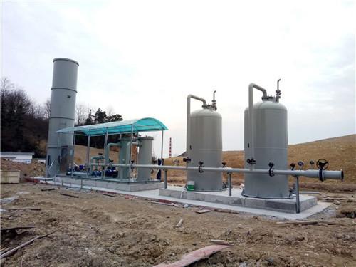 沼气预处理系统