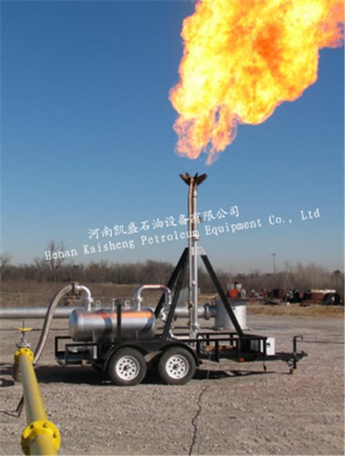 煤气放散火炬,四种常见点火运行模式